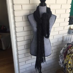 Super long woven scarf from Bebe
